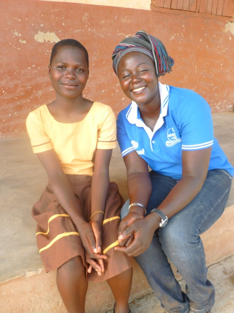 AfriKids Future's Freedom beneficiaries - Gloria and CeCe